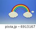 ペーパークラフト虹 6913167