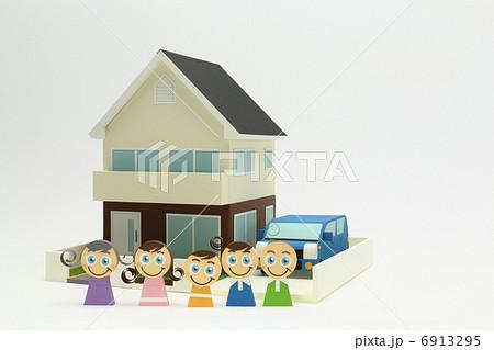 ペーパークラフト家族 6913295