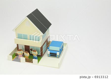 ペーパークラフト家族 6913312