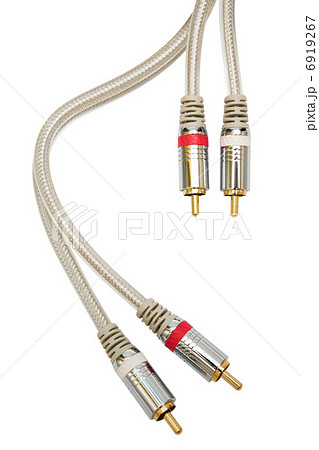 audio cableの写真素材 [6919267] - PIXTA