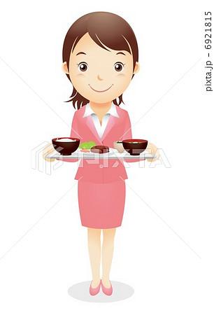 ビジネス女性イラスト 6921815