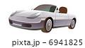 自動車 車 スポーツカーのイラスト 6941825