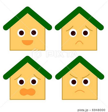 家 擬人化 緑 6948000
