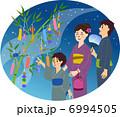 笹 笹飾り 七夕飾りのイラスト 6994505