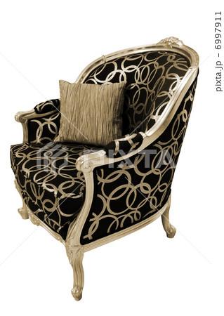 fashionable armchairの写真素材 [6997911] - PIXTA
