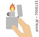 オイルライター 点火 ライターのイラスト 7008133