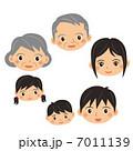 日本人家族 7011139