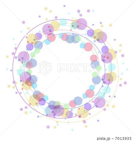 粒粒の背景イラストのイラスト素材 7013935 Pixta