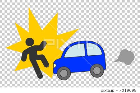 自動車 人身事故 7019099