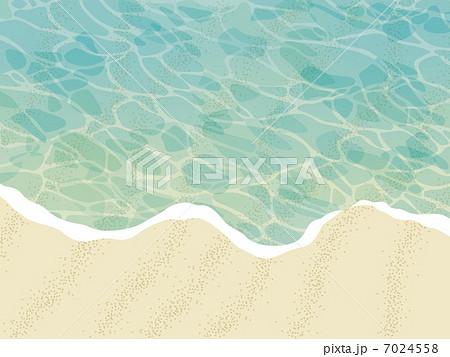 波打ち際のイラスト素材 7024558 Pixta
