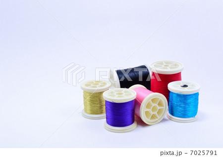 色糸ボビンの写真素材 [7025791] - PIXTA
