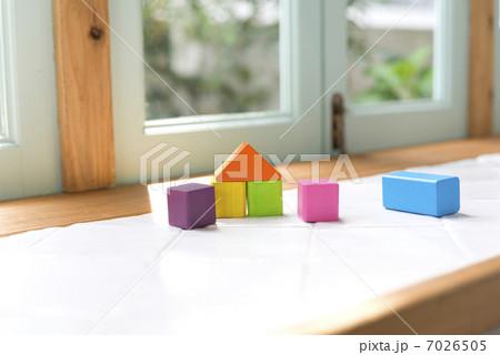 積み木の家の写真素材 [7026505] - PIXTA