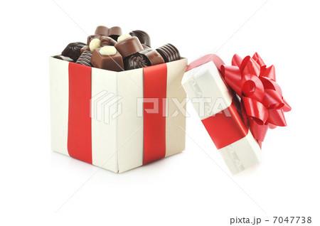 different chocolate in boxの写真素材 [7047738] - PIXTA