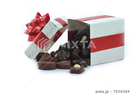 different chocolate in boxの写真素材 [7050384] - PIXTA