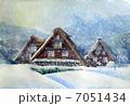 冬の白川郷 7051434