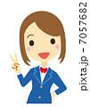勝利のV 女子学生(ブレザー) 7057682