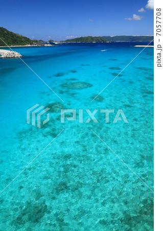 慶良間諸島・阿嘉島の海 7057708