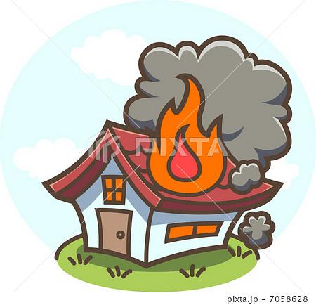 火事!燃える家 7058628