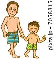親子 家族 人物のイラスト 7058815