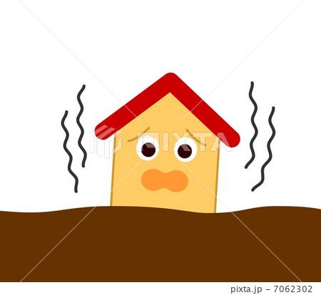 家 地震 7062302