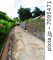 小道と石垣 2 7095471