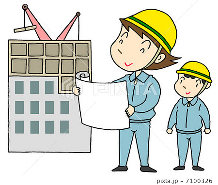 女性建築士 7100326