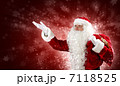 サンタ サンタクロース 男の写真 7118525