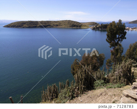 ティティカカ湖 7128783