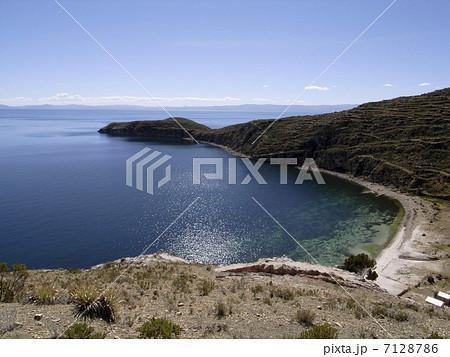 ティティカカ湖 7128786