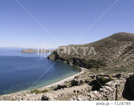 ティティカカ湖 7128789