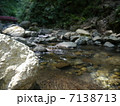 滝沢川 川 清流の写真 7138713