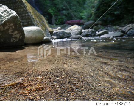 川の水面 7138714