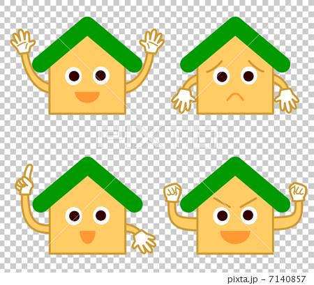 家 擬人化 緑 7140857