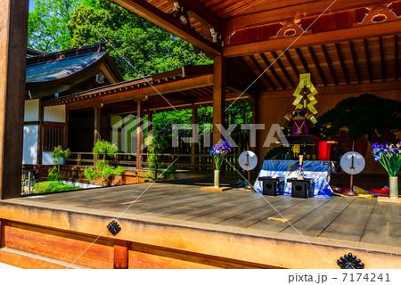 武田神社 山梨の写真素材 [7174241] - PIXTA