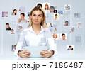グローバル キャリアウーマン ビジネスウーマンの写真 7186487