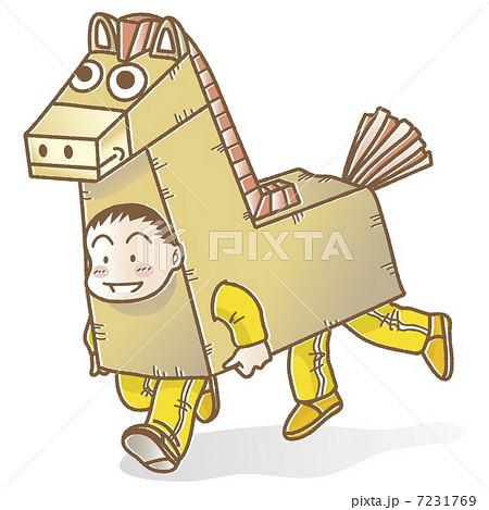 お芝居の馬 7231769
