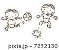 サッカー少年 7232130