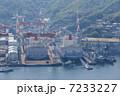 造船所 長崎港 造船業の写真 7233227