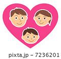 親子 ハート 7236201