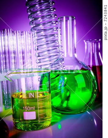 test tubes with colorful liquidsの写真素材 [7243841] - PIXTA