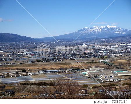 甲府盆地と八ヶ岳 7257114