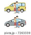 家族と車 7263339