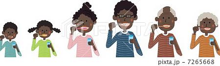 歯磨き(黒人) 7265668
