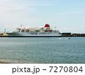 日本の大型客船 ふじ丸 高知での最後の姿 7270804