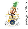 パイナップルのドラム 7287053