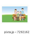 三世代家族 三世代 写真のイラスト 7292162