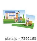 家族 写真 親子のイラスト 7292163