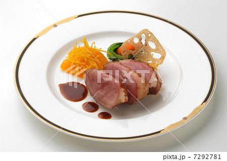 オードブル 前菜 フランス料理 鴨 鴨料理 肉料理 西欧料理  7292781