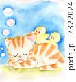ひよこ 子猫 猫のイラスト 7322024