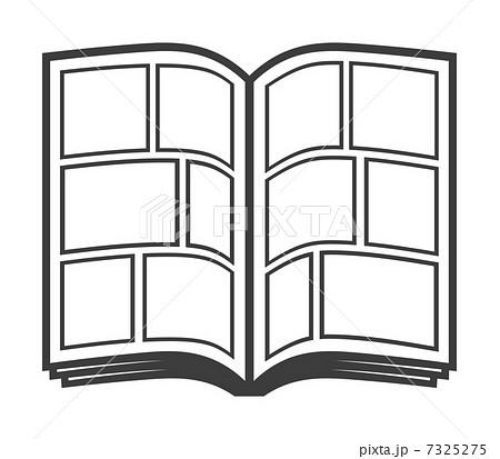 イラスト 電車 イラスト 無料 : 漫画本のイラスト素材 [7325275 ...